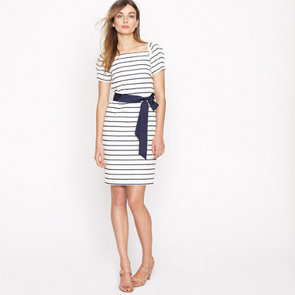 Collection puffection dress in stripe