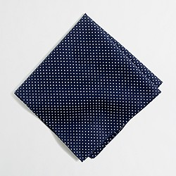 Factory dot pocket square