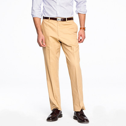 Aldridge suit pant in Italian chino
