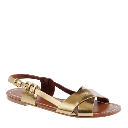 Tova metallic sandals