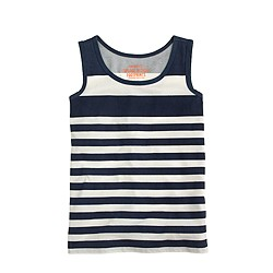 Boys' tank in stripe