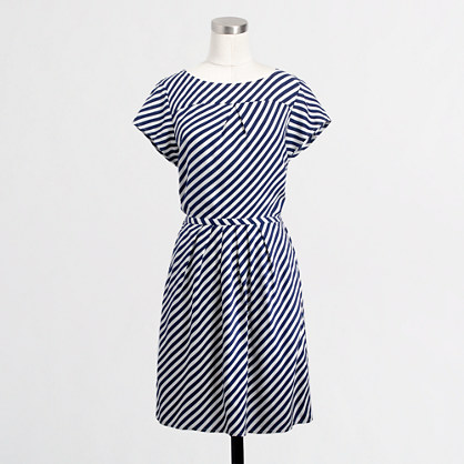 Factory stripe pocket dress