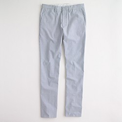 Factory Thompson suit pant in seersucker