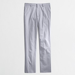 Factory Thompson suit pant in corded cotton