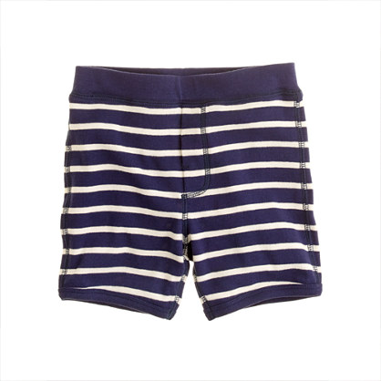 Boys' sleep short in beach stripe