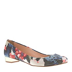 Janey printed flats
