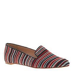 Darby bead-stitch loafers