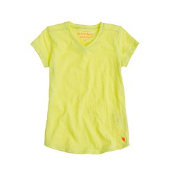 Girls' supersoft V-neck tee