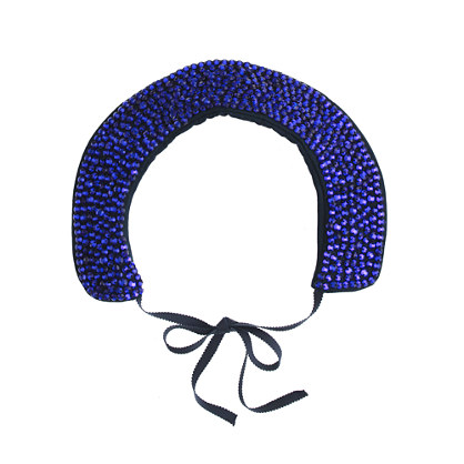 Girls' jeweled collar