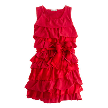 Girls' Rosalie twisted dress