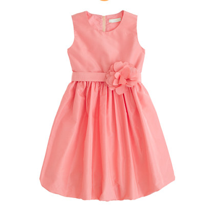 Girls' Collection silk taffeta Gillian dress
