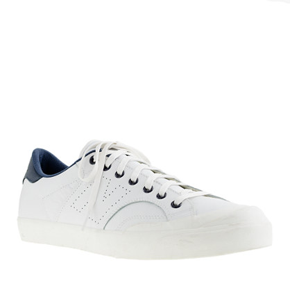 New Balance® for J.Crew perforated leather ProCourt sneakers