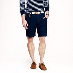 Wallace & Barnes indigo fishtail short