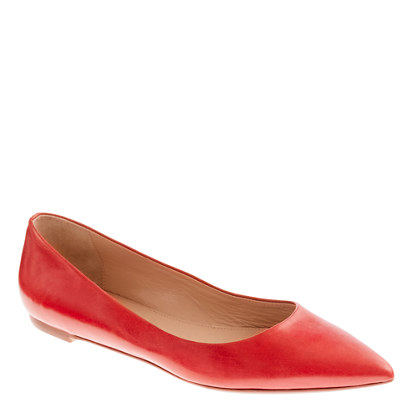Viv leather flats