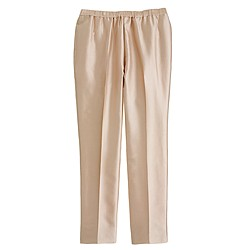 Collection silk shantung pant