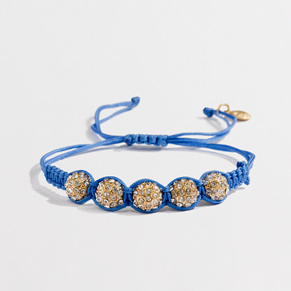 Factory crystal disco friendship bracelet