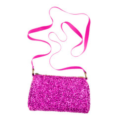 Girls' glitter pursette