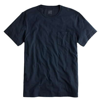 Tall broken-in pocket tee