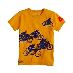 Boys' motorcycle tee