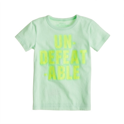 Boys' undefeatable tee