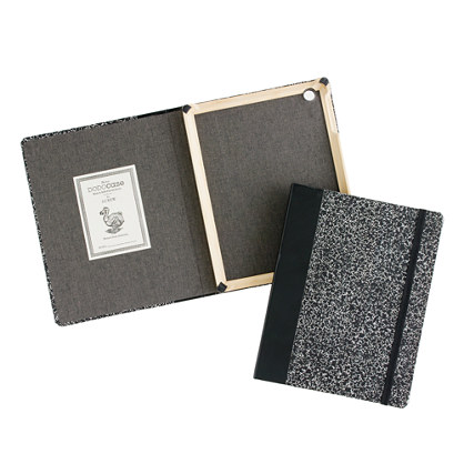 Patterned DODOcase™ for J.Crew for iPad with camera hole