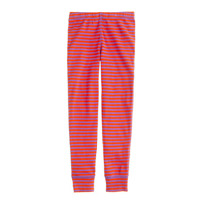 Girls' sleep pant in posie stripe