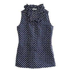 Naomi top in polka dot