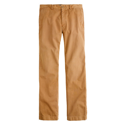 Sun-faded chino in classic fit