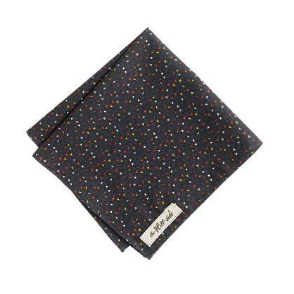 The Hill-side® American calico floral pocket square