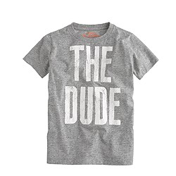 Boys' the dude tee