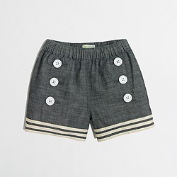 Factory girls' sailor short