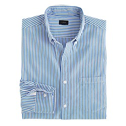 Secret Wash shirt in Parisian blue stripe