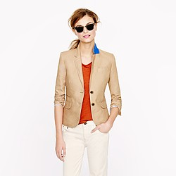 Tall schoolboy blazer in linen