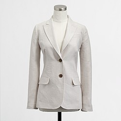 Factory suiting blazer in linen