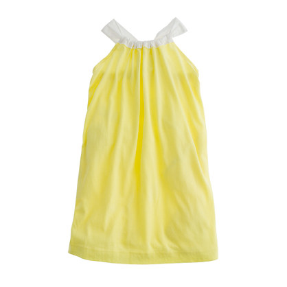 Girls' bow-back dress