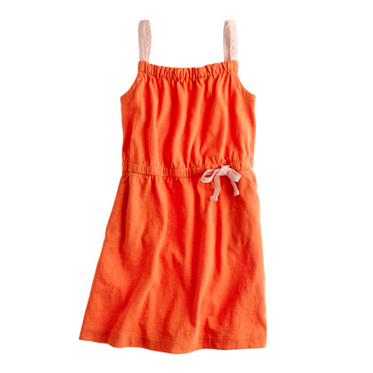 Girls' everyday tank dress