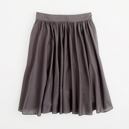 Factory pleated skirt