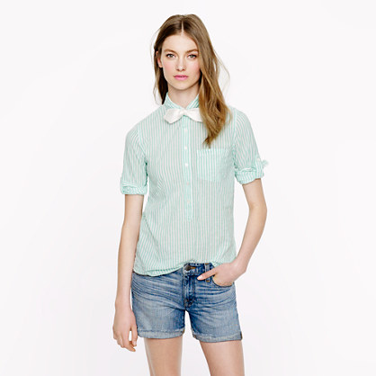 Camp popover in stripe