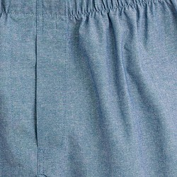 Solid chambray boxers