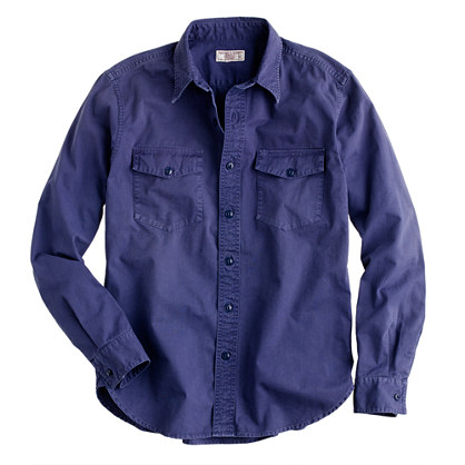 Wallace & Barnes vintage twill workshirt