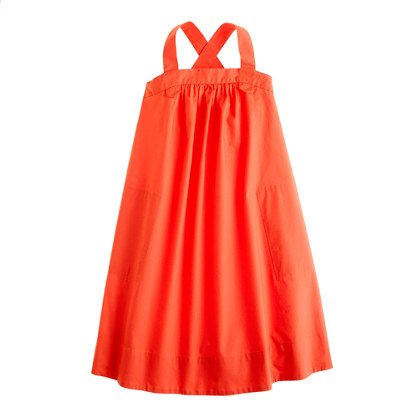 Girls' poplin maxidress