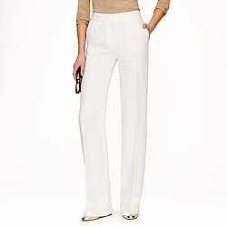 Collection tuxedo pant in Italian linen