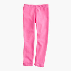 Girls' everyday leggings in neon