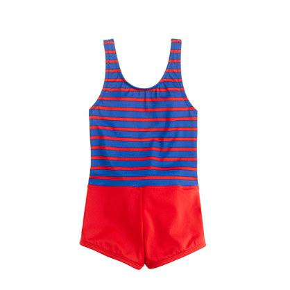 Girls' retro tank