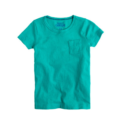 Girls' pocket tee