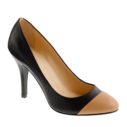 Mona colorblock pumps