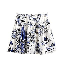 Girls' sailboat skirt