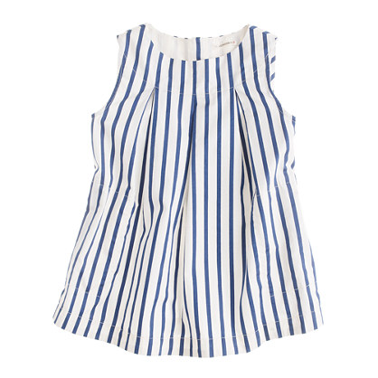 Girls' stripe tunic