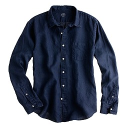Irish linen shirt
