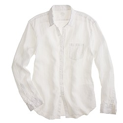 Tall Irish linen shirt